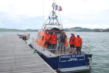 L'« Amiral de Grasse » est désormais opérationnel à La Trinité. (Photo : Monique Labonne)